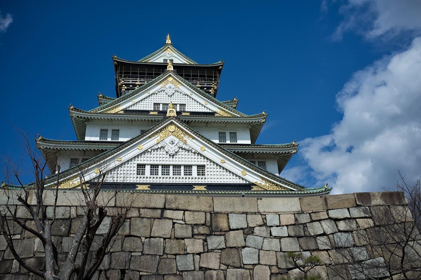 Osaka Castle, Japan - Photo by Zed Sindelar of CuriousZed Photography