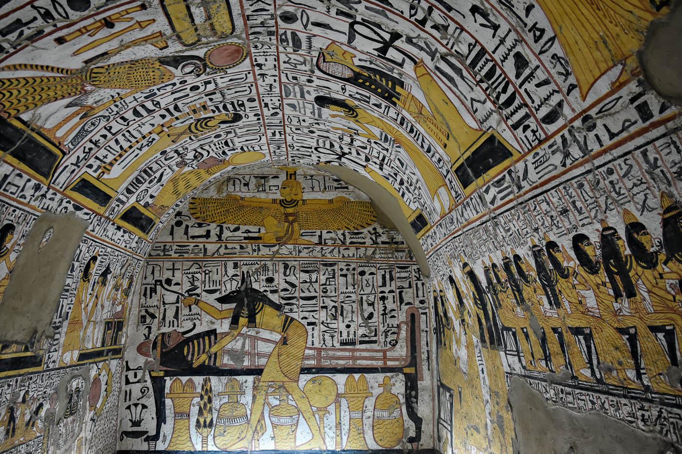 Tomb at Deir el Medina, Luxor, Egypt - Photo by Zed Sindelar of CuriousZed Photography