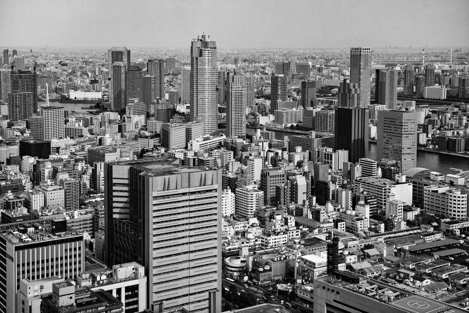 Tokyo skyline - Photo by Zdenek Sindelar of CuriousZed Photography