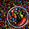 Colours of the Painbow - Detailed section of the photograph-CuriousZed / Zdenek Sindelar
